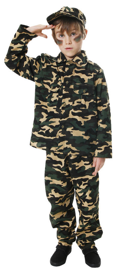 Boy's Army Costume