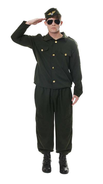 Army Combat Man Costume