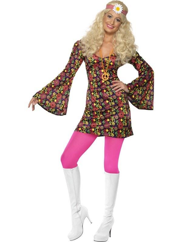 1960 Hippie Dress Costume