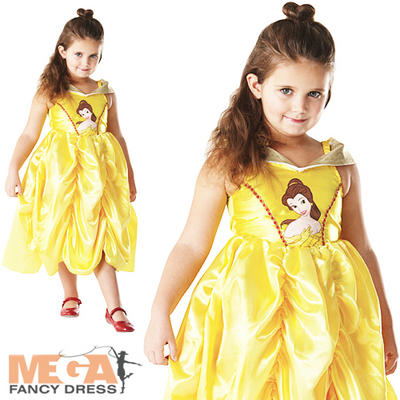 Girls' Classic Disney Belle Costume