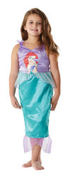 View Item Girls Officially Licensed Classic Disney Princess Ariel Fancy Dress Costume