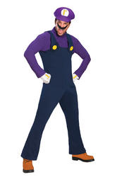 Waluigi Super Mario Bros Costume