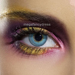 View Item Aqua 3 Tone Contact Lenses Adult Eye Accessories
