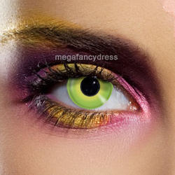 View Item Incredible Hulk Green Contact Lenses Adult Eye Accessories