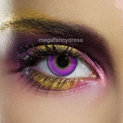 View Item Violet 3 Tone Fashion Contact Lenses Adult Eye Accessories