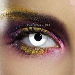 View Item White Fashion Contact Lenses Adult Eye Accessories