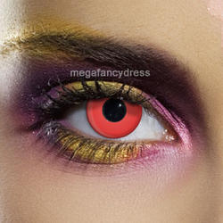 View Item Red Fashion Contact Lenses Adult Eye Accessories