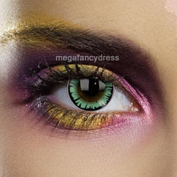 View Item Big Eye Dolly Green Contact Lenses Adult Eye Accessories