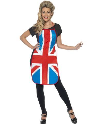 Union Jack Apron Costume