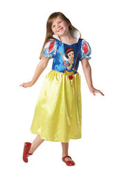 View Item Girls Officially Licensed Classic Disney Snow White Princess Fancy Dress Costume