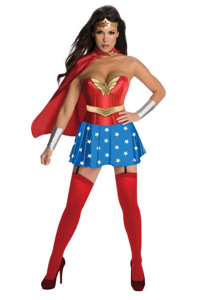 View Item Sexy Wonder Woman Costume