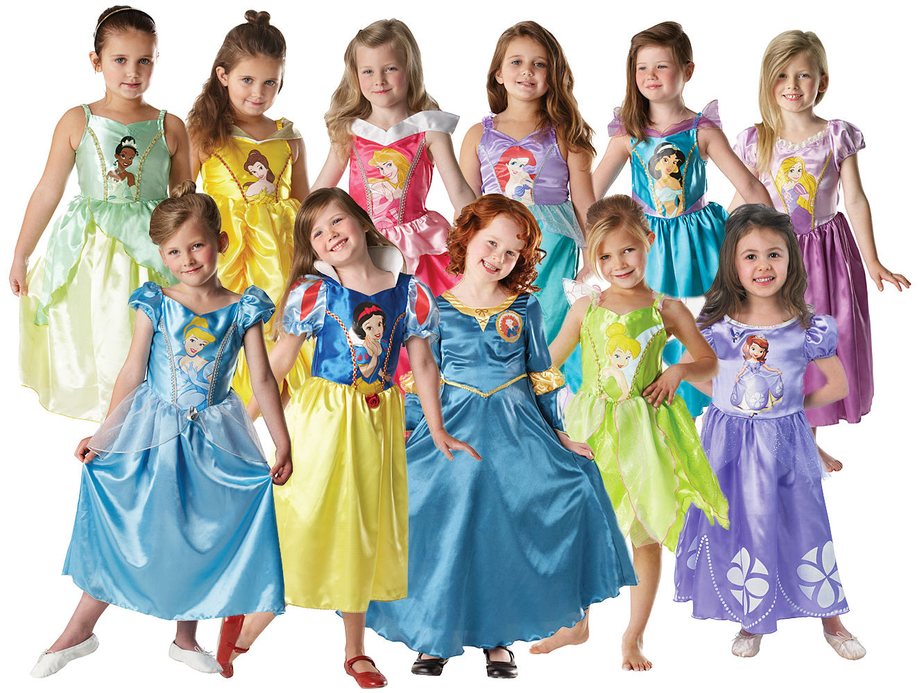 Childrens Dress Up Cinderella Shoes