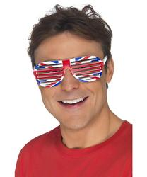 View Item Union Jack Flag Grill Sunglasses