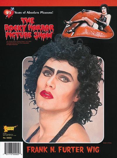 Rocky Horror Show Frank n Furter Wig