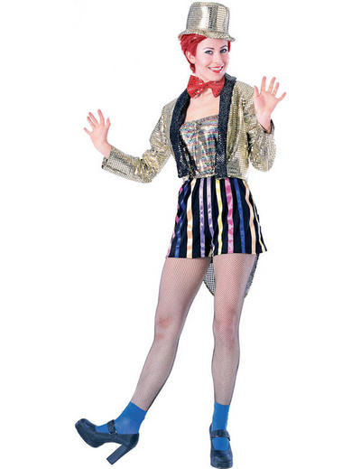 View Item Ladies Rocky Horror Show Columbia Fancy Dress Costume