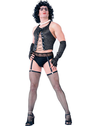 View Item Mens Rocky Horror Show Frank n Furter Fancy Dress Costume