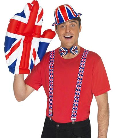 Union Jack Inflatable Hand Costume