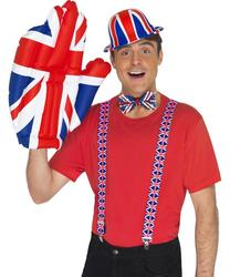 View Item Union Jack Inflatable Hand Costume