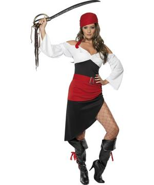 View Item Sassy Pirate Wench Costume