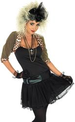 View Item Ladies 1980s Pop Star Fancy Dress Costume