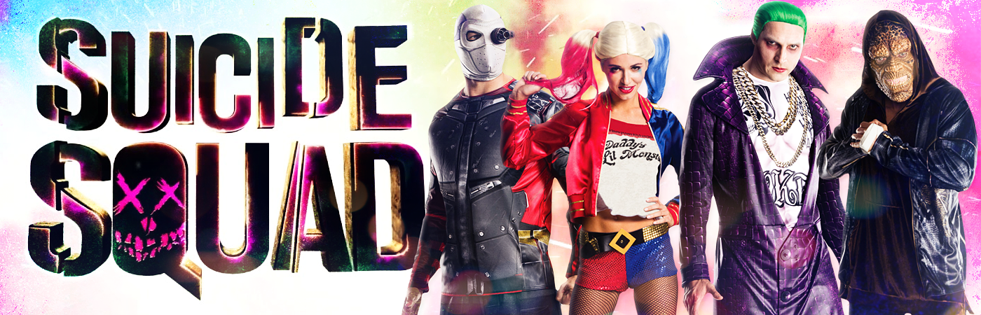 Suicide Squad Wars Costumes