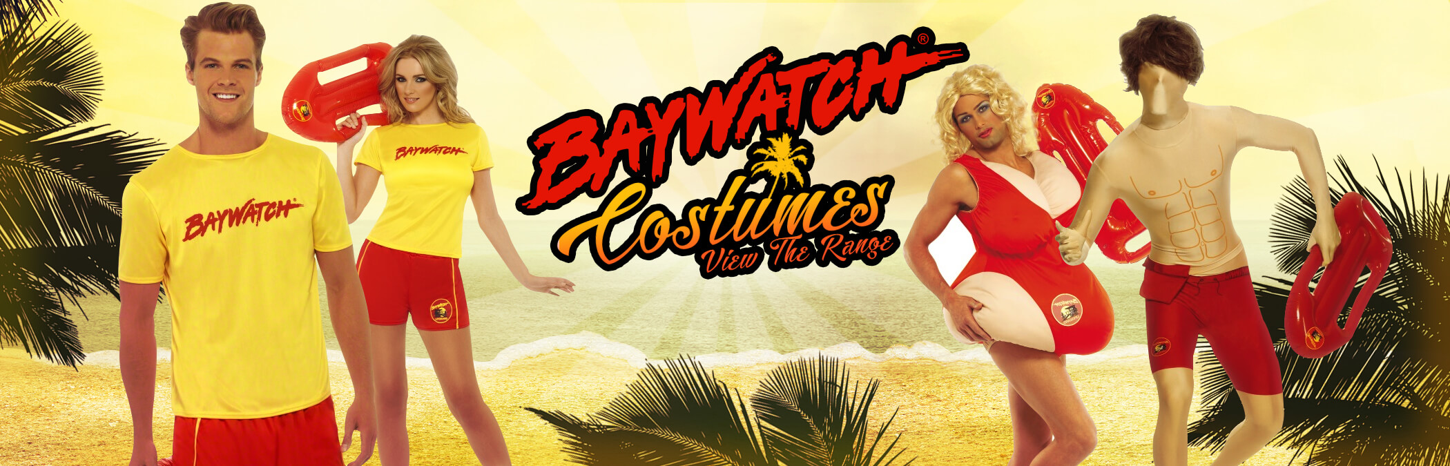 Baywatch Beach Costumes