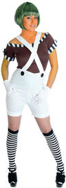 View Item Ladies Sexy Oompa Loompa Factory Worker Costume