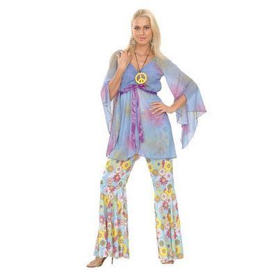 Groovy Hippy Lady Costume