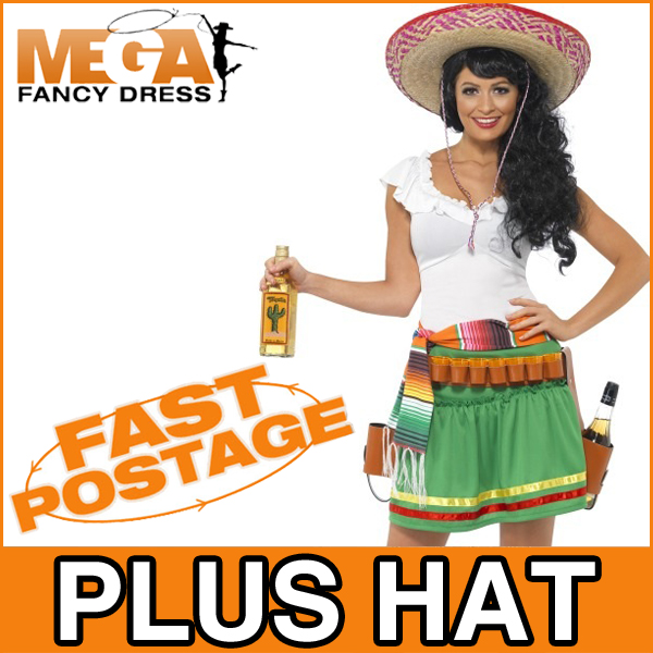 mexican tequila shooter girl fancy national dress ladies