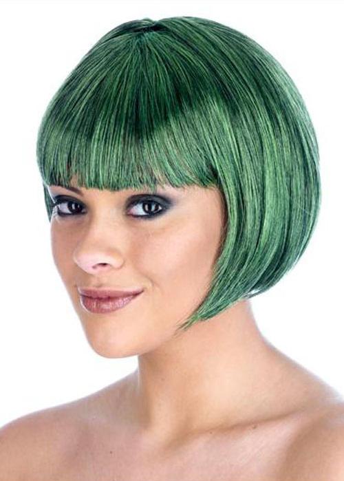 Green Oompa Loompa Wigs 63