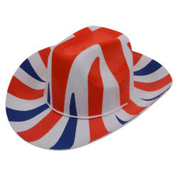 View Item Union Jack Cowboy Hat