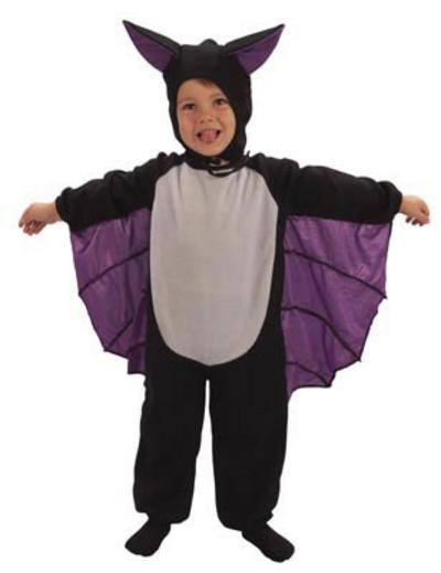 Toddlers Bat Suit Costume