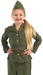 View Item WW2 Army Girl Costume