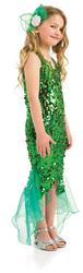 View Item Girls Glitter Mermaid Fancy Dress Costume