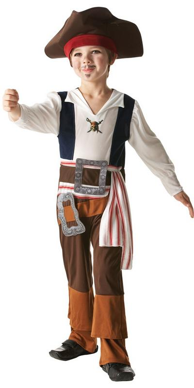 Boy's Captain Jack Sparrow Costume