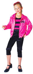 View Item Girl's T Bird Cutie Grease Costume