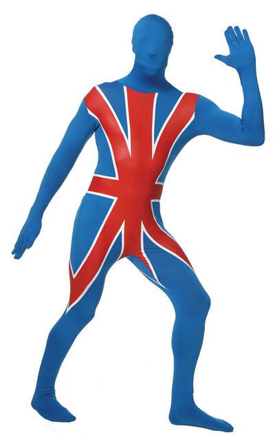 Great Britain Skin Suit Costume