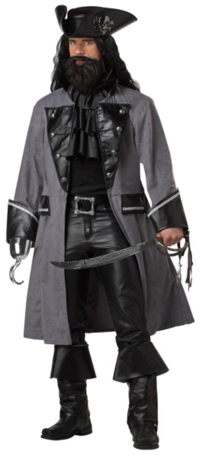 Black Beard Costume