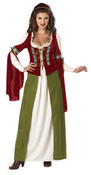 View Item Medieval Maid Marian Costume