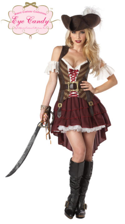 View Item Sassy Swashbuckler Pirate Costume