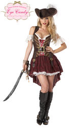 Sassy Swashbuckler Pirate Costume