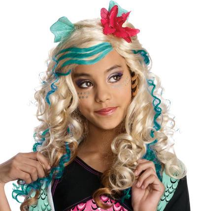 Girl's Lagoona Blue Wig
