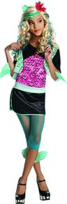 View Item Girl's Lagoona Blue Monster High Fancy Dress Costume