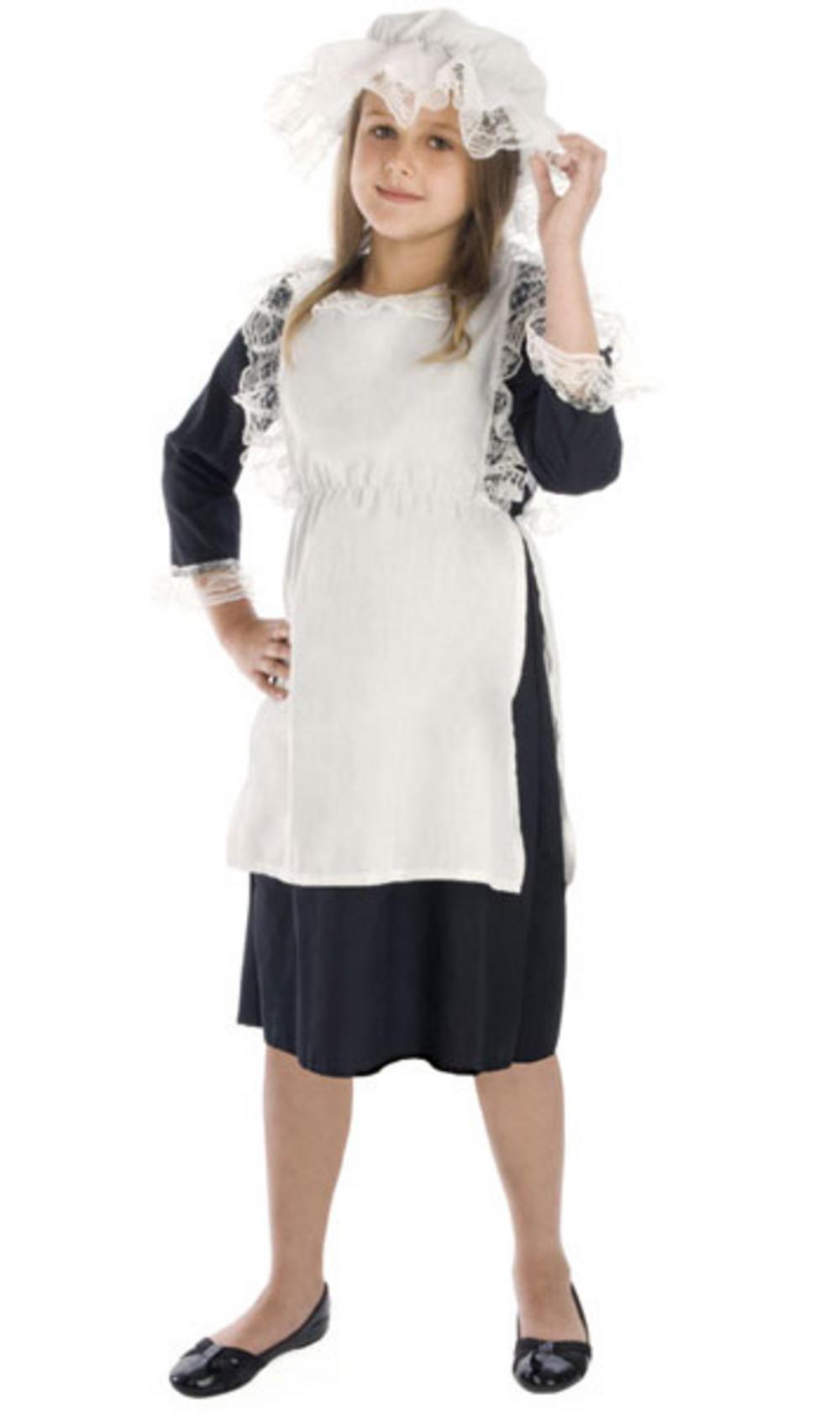 Victorian Girl Costume   Girlu0026#39;s World Book Day Fancy Dress Costumes   Mega Fancy Dress