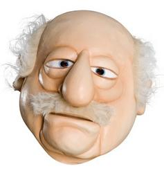View Item Adults The Muppets 'Waldorf' Mask