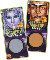 View Item Adult's Metallic Cream Makeup Facepaint