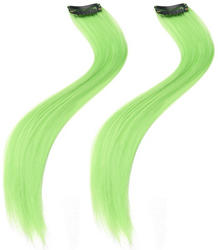 View Item Neon Green Hair Extensions