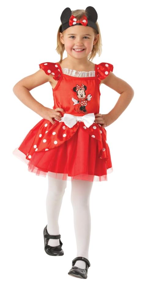 Disney girls minnie mouse red ballerina fancy dress - Deguisement petite fille ...