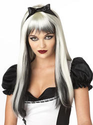 View Item Black and White Enchanted Tresses Wig