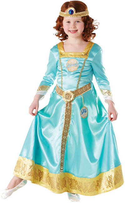 Girl's Brave Merida Ornamental Disney Fancy Dress